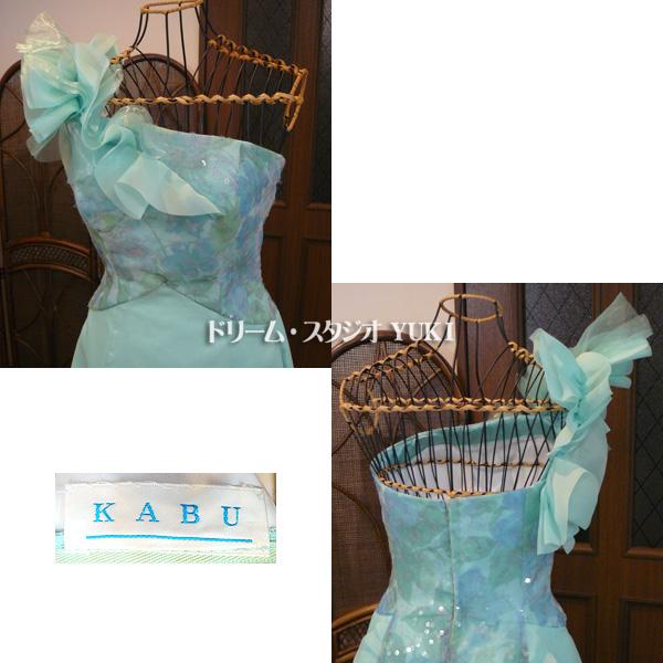 ■KABU■カラードレス8号~11号メロングリーン(jc245)中古_ウエディング/舞台/イベント衣装にどうぞ