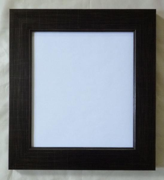 色紙額(風雅:ブラック)新品-即決-_画像1