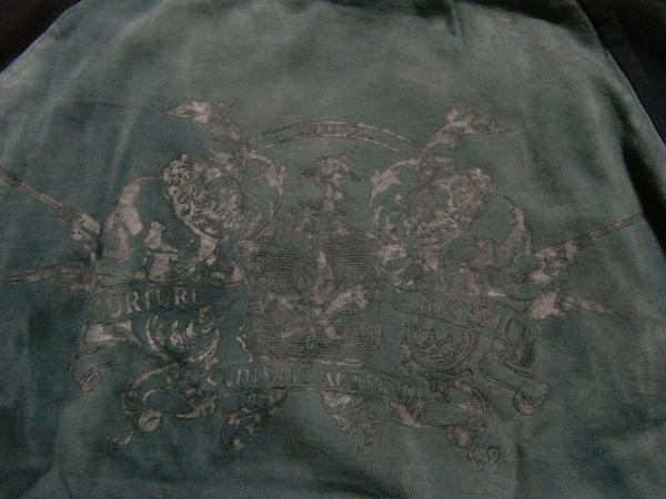 サディスティックアクション SADISTIC ACTION メンズ長袖Tシャツ Mサイズ NO11 新品_画像3