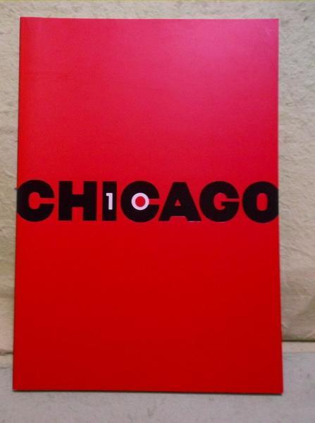 C-パンフ シカゴ ブロードウェイ版