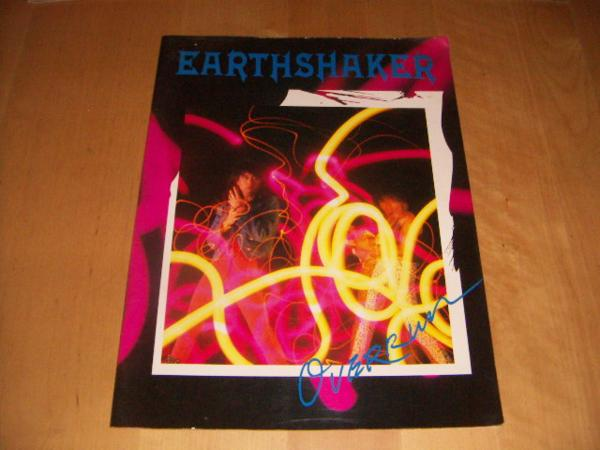 ●即決!ツアー パンフ:EARTHSHAKER アースシェイカー