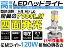 WR250R/X DG15J 四面発光 CREE バイク7000LM LEDヘッド1灯H4 YGM