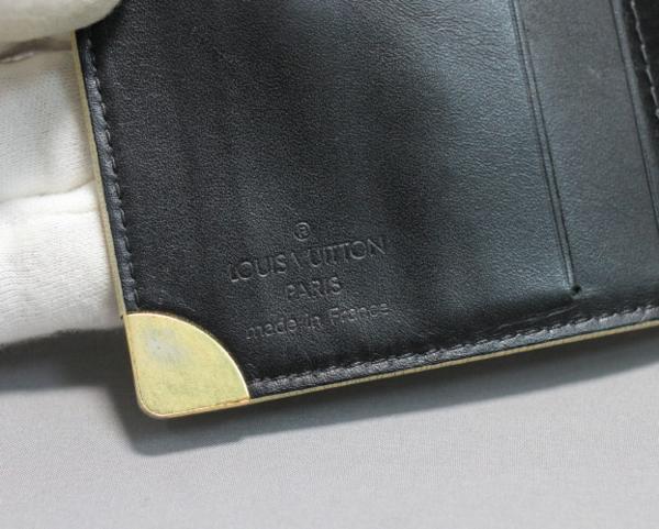 【質流れフタバヤ】LOUIS VUITTON ルイヴィトン スハリライン コンパクトジップ(財布) 箱付き 即決可_画像5