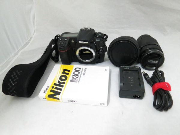 [1円] Nikon デジタル一眼レフカメラ D300 35-70mm F2.8D シグマ 10-20mm F4-5.6 ダブルレンズ