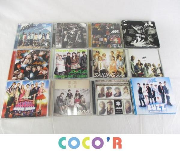 AAA CD 777 恋音と雨空 等 12点グッズセット