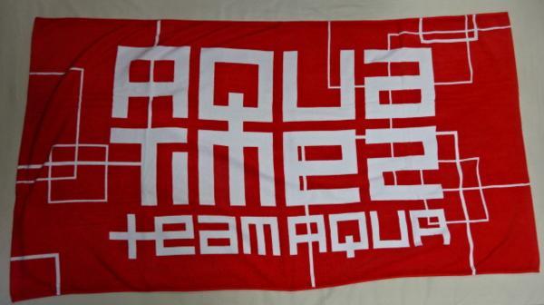 ★ Aqua Timez(アクア タイムズ) 人気の バスタオル TEAM AQUA