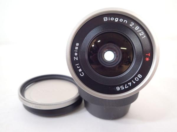 美品 CONTAX Carl Zeiss G用レンズ Biogon 21mm F2.8 T* コンタックス ビオゴン ★ 4E267-41