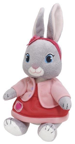 ◆送無◆新品◆定形外◆Peter Rabbit ピーターラビット アニメ リリィ 182464◆ピーターラビットの大冒険 ぬいぐるみ うさぎ プレゼント グッズの画像