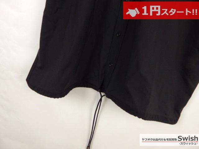 A377●REVISED /MONKEYTIME B&Y アローズ●OVERSIZED SHT SS 半袖シャツ L 黒●_画像3