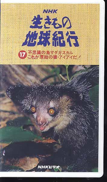 NHKビデオ「生きもの地球紀行■17 不思議の島 マダガスカル ~これが原始の猿・アイアイだ!~」_画像1