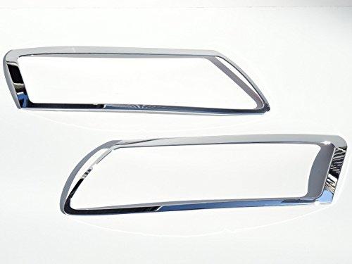 アウディ AUDI メッキ ヘッドライト ヘッドランプ リング リム A6 04~08y_画像2