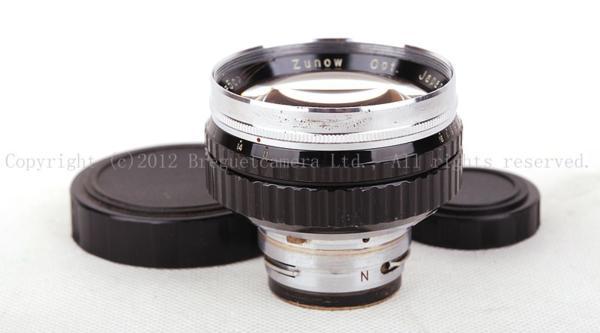 大珍品 ズノー 帝国光学 ZUNOW opt japan 50mm f1.1 大口径 ニコン S マウント