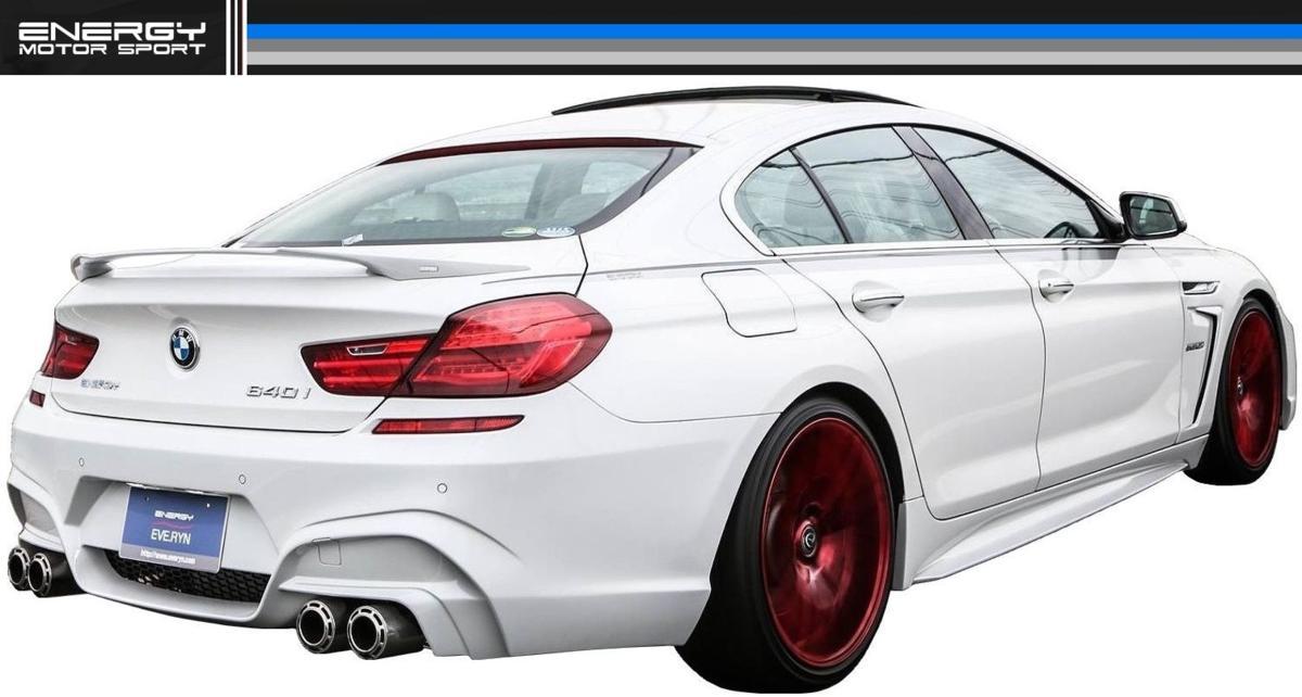 BMW F12 F13 F06 6シリーズ リア バンパー エナジー モーター スポーツ ENERGY MOTOR SPORT エアロ クーペ カブリオレ グランクーペ M6_画像1