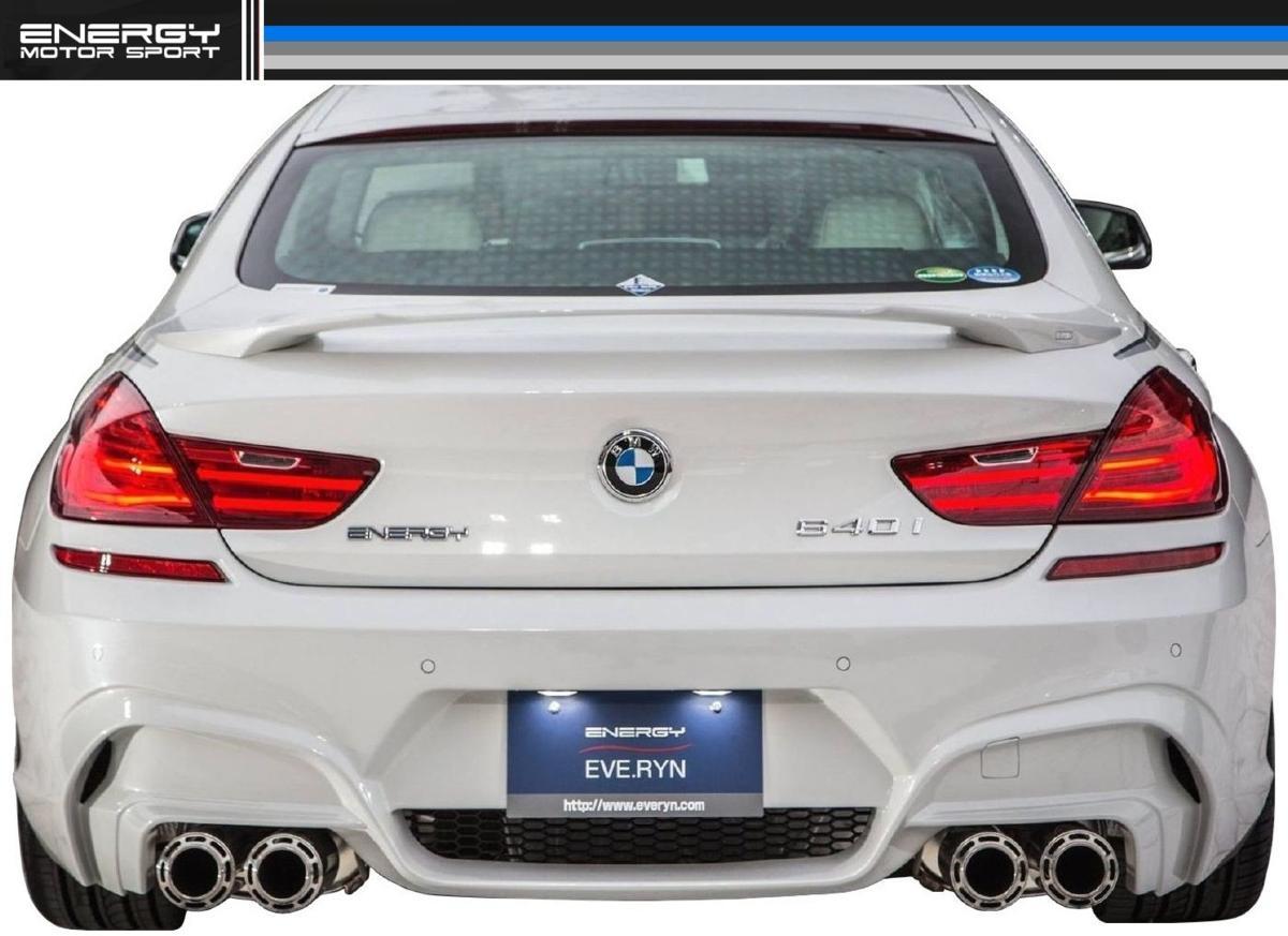 BMW F12 F13 F06 6シリーズ リア バンパー エナジー モーター スポーツ ENERGY MOTOR SPORT エアロ クーペ カブリオレ グランクーペ M6_画像2
