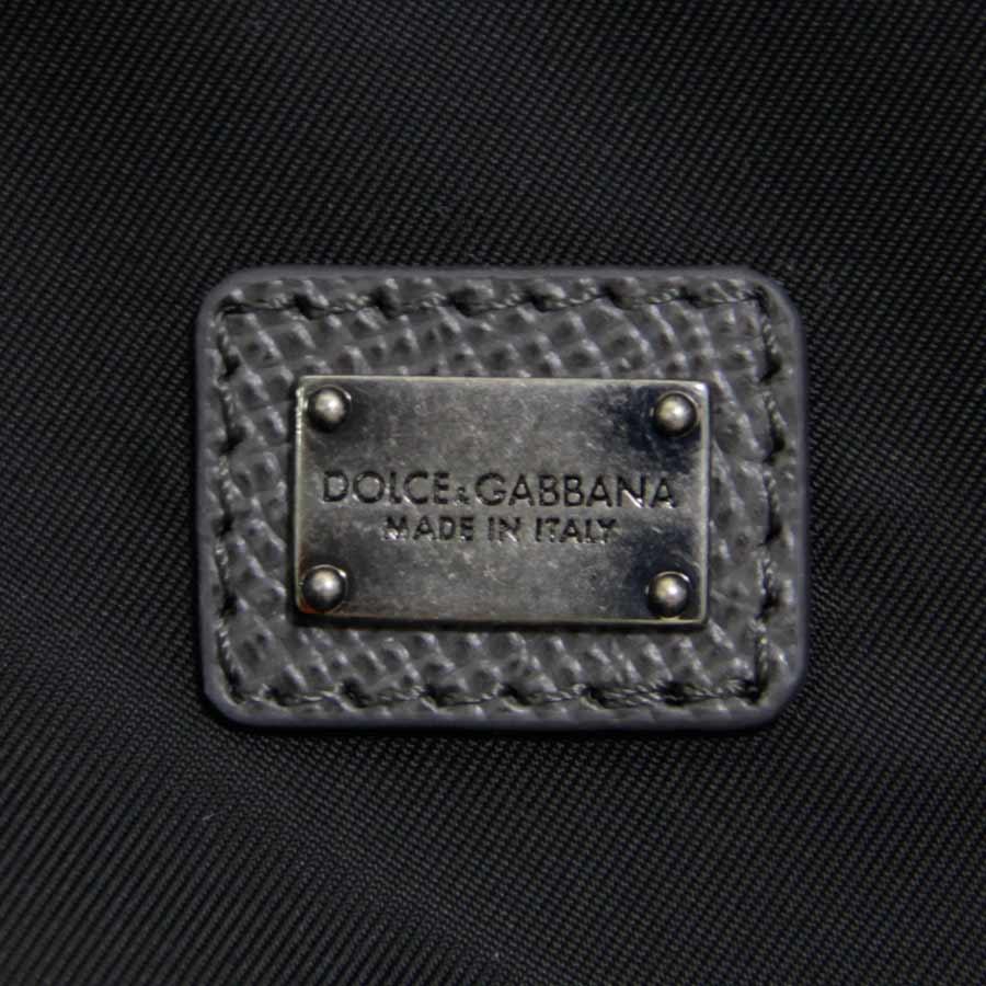 【新品】DOLCE&GABBANA ドルチェ&ガッバーナ リュック SICILIA ロゴアップリケ ナイロン ブルー v40974_商品画像5
