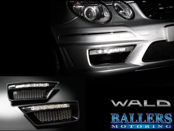 ☆ BENZ ベンツ Eクラス W211 AMG E63 WALD LED デイライト_画像1