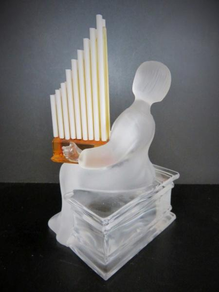 【G】●サンルイ●フィギュアパイプ楽器の演奏者置物インテリア_画像3