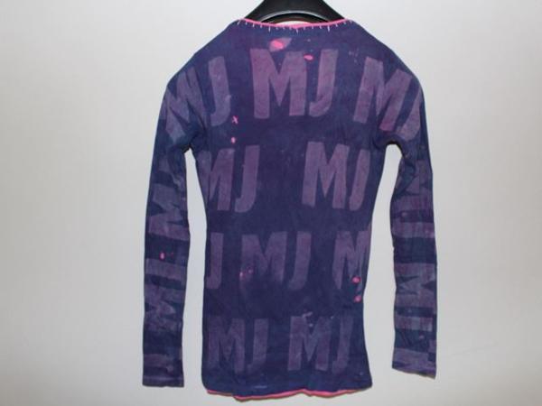 アイコニック ICONIC マイケルジャクソン レディース長袖Tシャツ パープル Mサイズ 新品_画像5