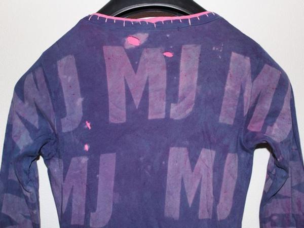 アイコニック ICONIC マイケルジャクソン レディース長袖Tシャツ パープル Mサイズ 新品_画像6