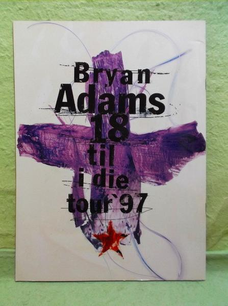 H-パンフ BRYAN ADAMS ブライアン・アダムス 97