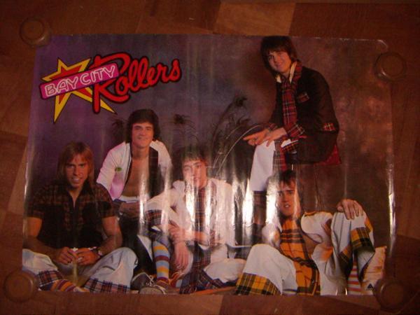 ●即決!ポスター:Bay City Rollers ベイ・シティ・ローラーズ:ARISTA:東芝EMI