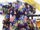 古董 - ★着物10★ 1円 絹 アンティーク 女児用 羽織セット 袷 子供着物 身丈69cm 裄38cm ☆☆☆