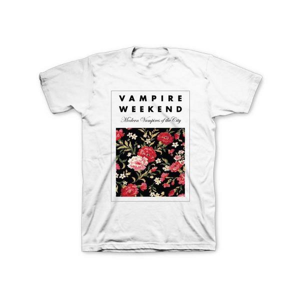 Vampire Weekend ヴァンパイアウィークエンド Floral Tシャツ S