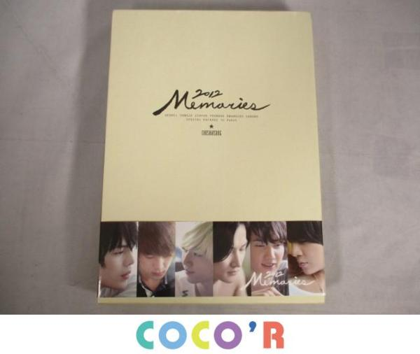 【フリマ即決】韓流 超新星 MEMORIES メモリーズ 2012 写真集