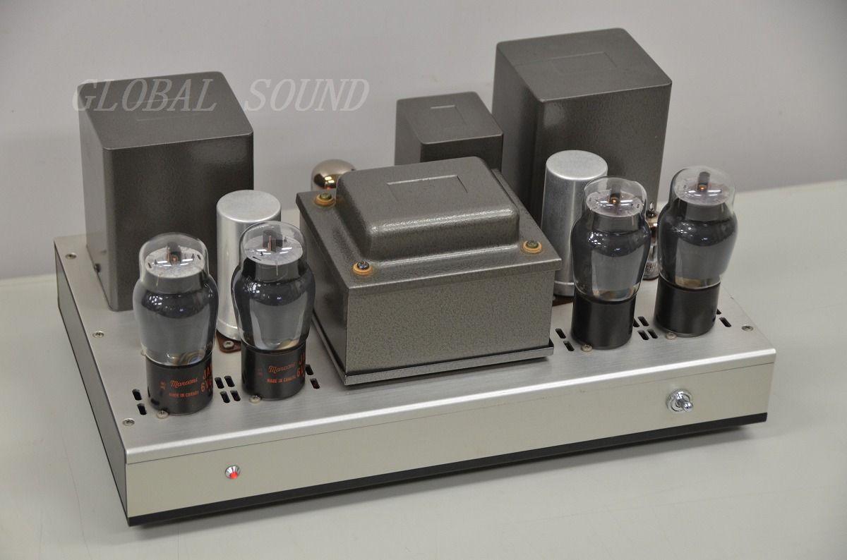 ●自作真空管パワーアンプ TANGO FW-40-8×2/10607/10483 売切り
