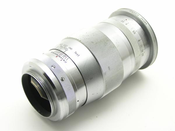 ★ハロ-カメラ★5691 Canon (CANON 135mm F3.5)白鏡筒 Lマウント バルナック 珍品/難有り動作品_画像7