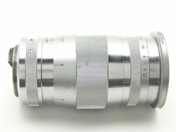 ★ハロ-カメラ★5691 Canon (CANON 135mm F3.5)白鏡筒 Lマウント バルナック 珍品/難有り動作品_画像5