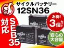 新品 溶接機用バッテリー12V36AH×3個セット[SEB35/U1-36E互換]