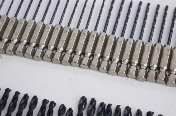 ■新品 六角軸ドリル銀 1.5mm~6.5mm HSS鉄鋼用 お得な55本set_画像3