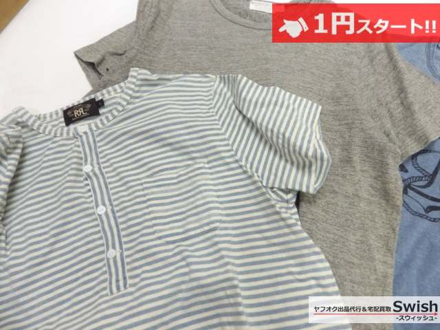 A784●RRL ダブルアールエル●Tシャツ カットソー 5点セット●_画像4