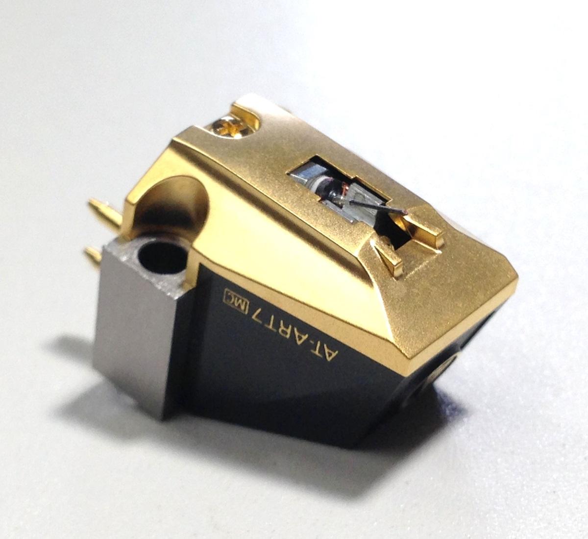 美品 audio-technica AT-ART7 MC型 カートリッジ 針カバー/ケース等付属品有 出力良好品 Audio Station_画像2