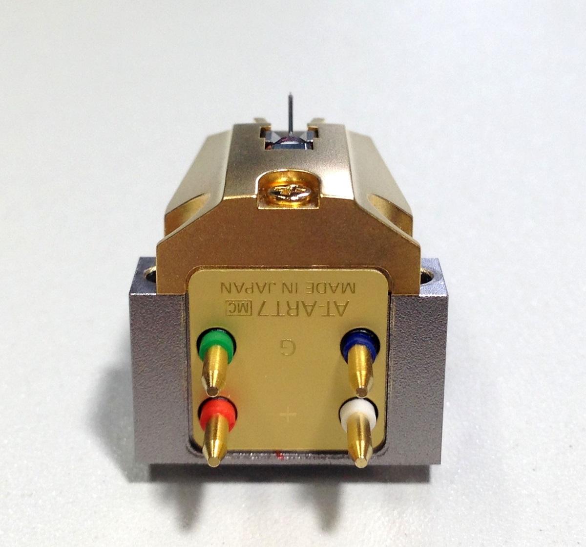美品 audio-technica AT-ART7 MC型 カートリッジ 針カバー/ケース等付属品有 出力良好品 Audio Station_画像5