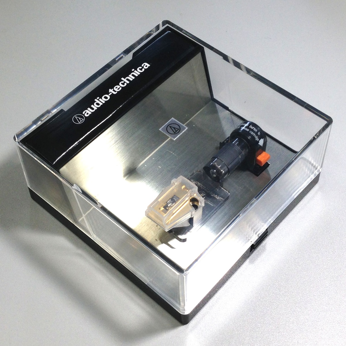 美品 audio-technica AT-ART7 MC型 カートリッジ 針カバー/ケース等付属品有 出力良好品 Audio Station_画像9