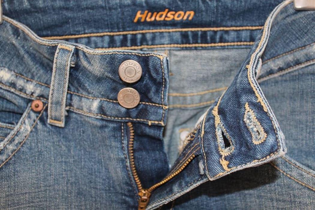 ハドソン Hudson レディースデニムパンツ ジーンズ 25インチ 新品_画像3