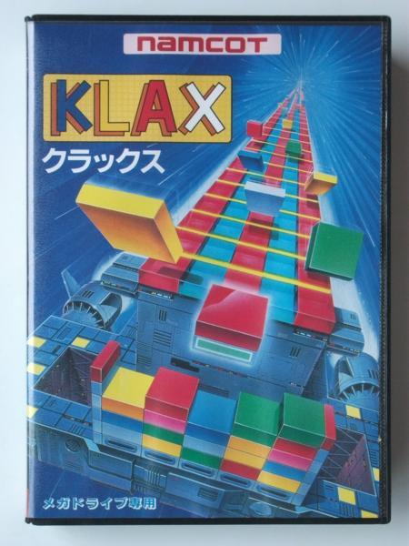 MD メガドライブ★ナムコ namcot★クラックス KLAX★新品未開封★1990年発売_画像1