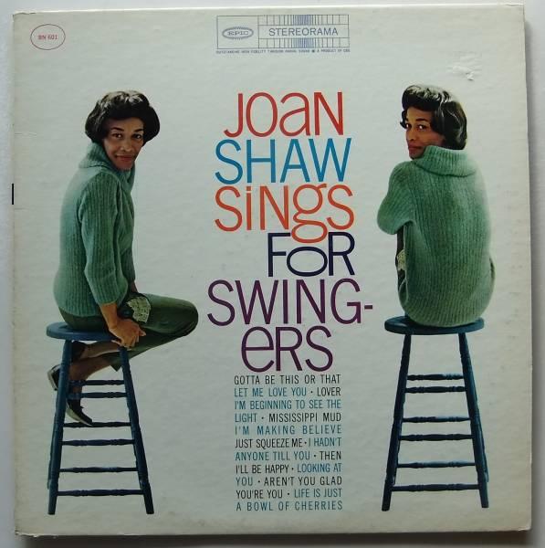 ◆ JOAN SHAW Sings For Swingers / SALENA JONES ◆ Epic ◆