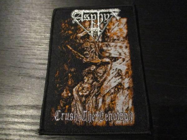 ASPHYX 刺繍パッチ ワッペン Crush the Cenotaph