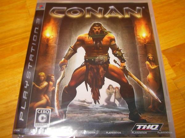新品 PS3 CONAN コナン