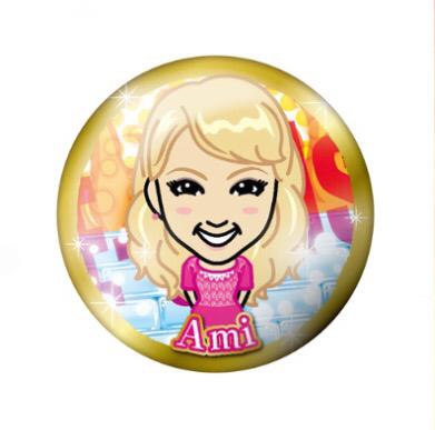 E-girls Dream Ami 缶バッジ ベーシック ガチャ ライブ・イベントグッズの画像