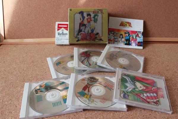 ★CD箱 聖闘士星矢 『メモリアル』 ●91年 5枚組 中古 廃盤 グッズの画像