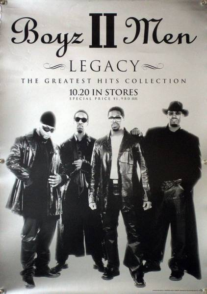 Boyz II Men ボーイズIIメン B2ポスター (1U01004)