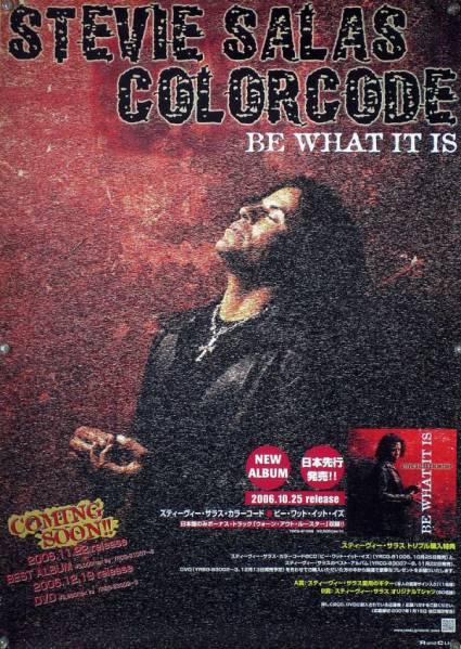 STEVIE SALAS スティーヴィー・サラス B2ポスター (1U20006)