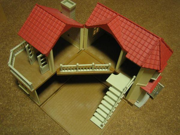★シルバニアファミリー 人形家具大量 あかりの灯る大きなお家_画像2