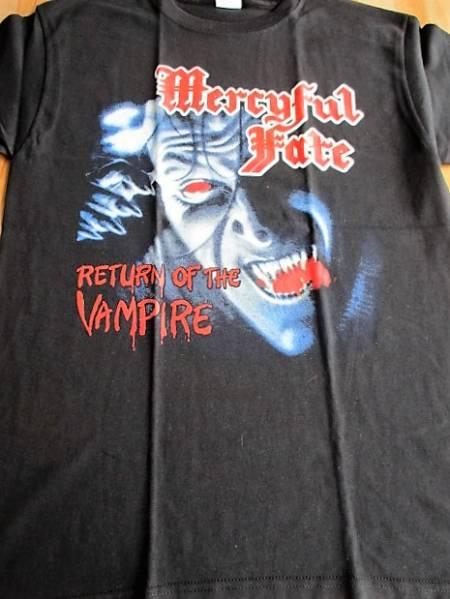 MERCYFUL FATE Tシャツ vampire 黒M / king diamonod metallica