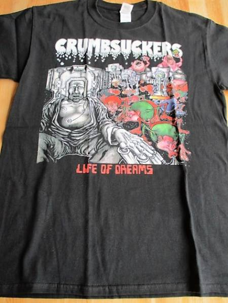 CRUMBSUCKERS Tシャツ life of dreams 黒M / leeway cro-mags