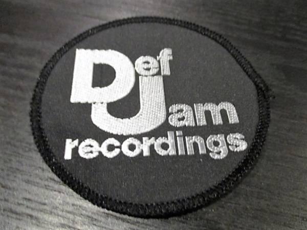 Def Jam recordings 刺繍パッチ ワッペン / public enemy slayer